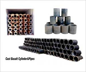 Cast Basalt in Ash Pipeline